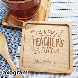 Teacher's Day Stationery Coaster