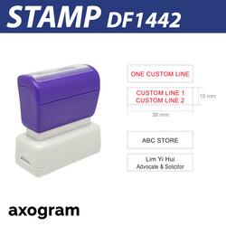 Premium 1-2 Line Stamp (Small)