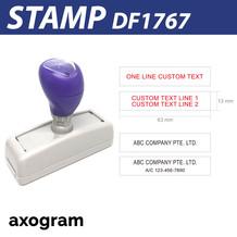 Premium 1-2 Line Stamp