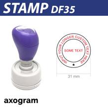 Premium Round Stamp (Large)