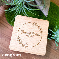 Personalized Text Coaster