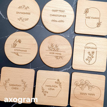 Personalized Name Coaster with Motif