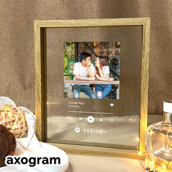 Wooden Spotify Music Frame