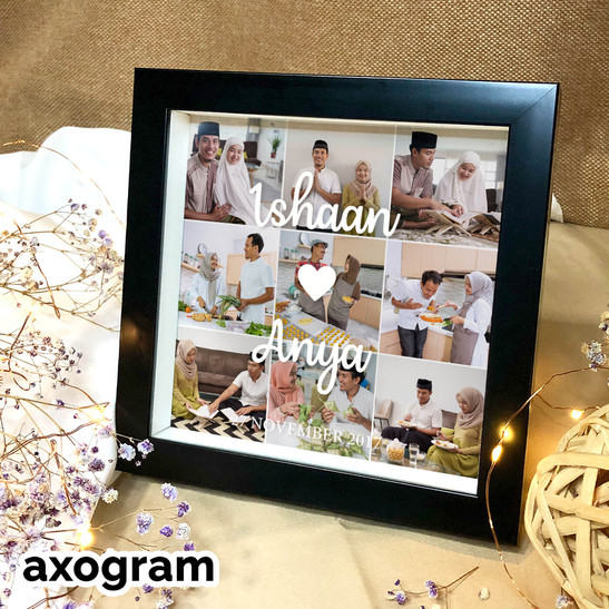 I Love You Collage Photo Frame