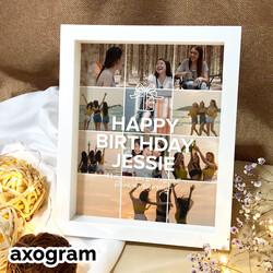 Happy Birthday Photo Collage Frame