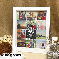 Jar of Hearts Photo Collage Frame