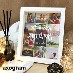 Mr & Mrs Photo Collage Frame