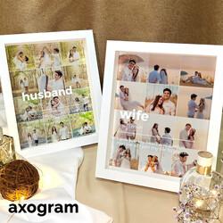 Husband / Wife Photo Collage Frame