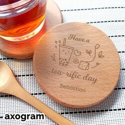 Tea-rific Day Coaster [B9R]