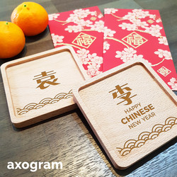 Chinese New Year Coaster