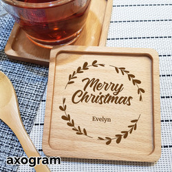 Merry Christmas Festive Coaster